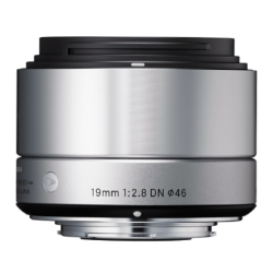 Sigma 19mm f/2.8 DN Art Lens - Silver