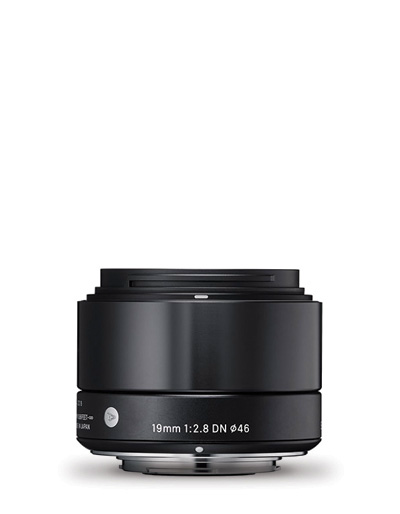 Sigma 19mm f/2.8 DN Black Art Lens for Micro Four Thirds