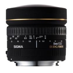 Sigma 8mm f/3.5 EX DG Circular Fisheye Lens