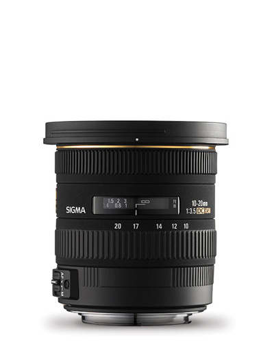Sigma 10-20mm f/3.5 Ex DC HSM Lens for Nikon **