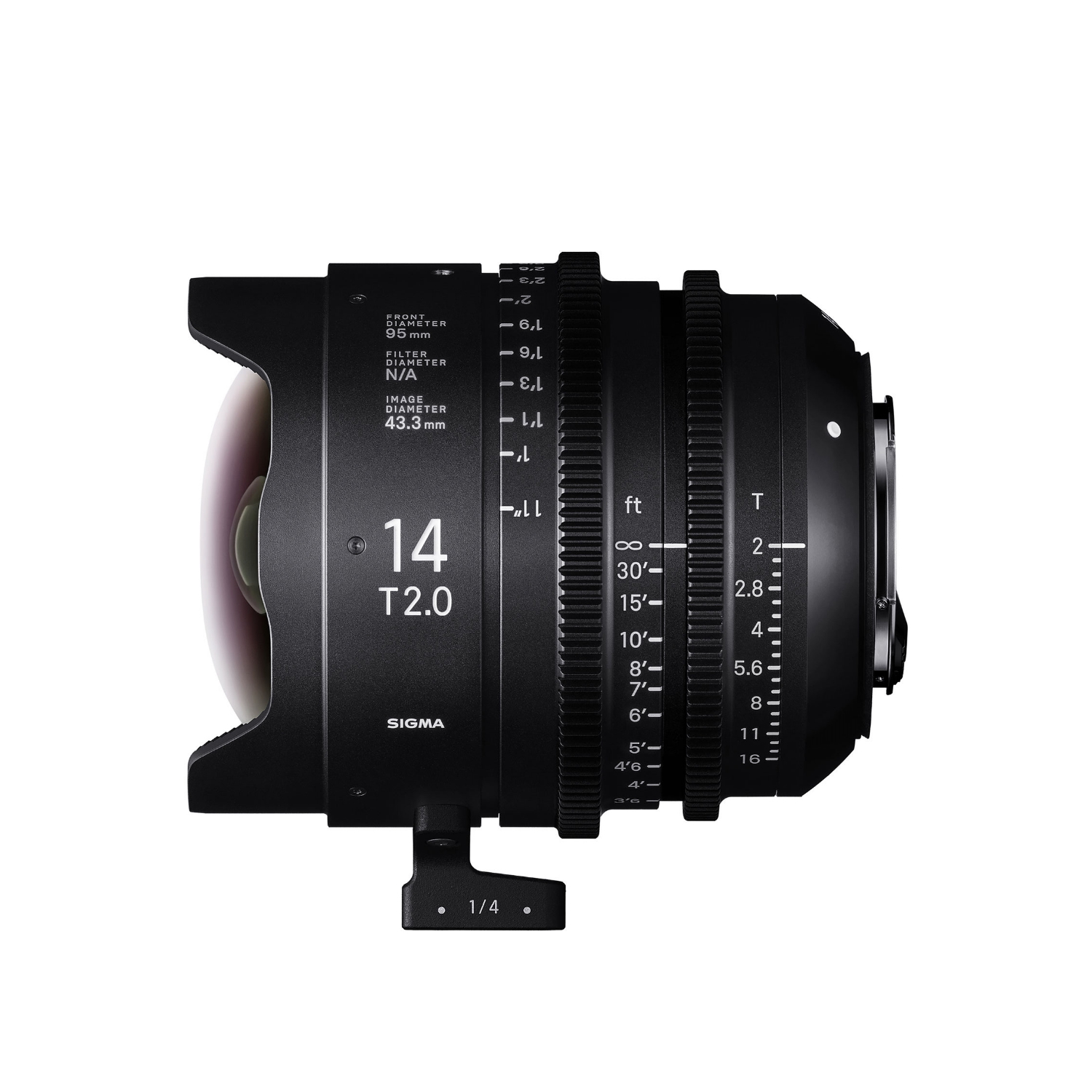 Sigma 7 Cine Lens Kit 14/20/24/35/50/85/135mm Canon EF Mount with Case